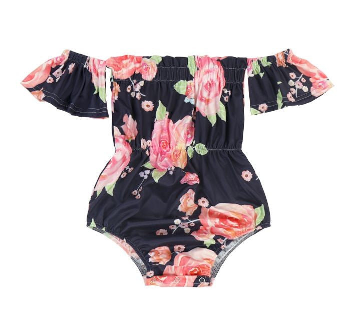 Where the Wild Flowers Grow Romper - Inward Beauty Boutique
