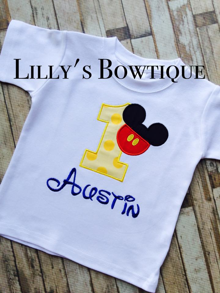 Mickey Inspired Birthday Shirt