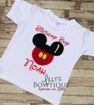 Embroidered Mickey Inspired Birthday Boy Shirt