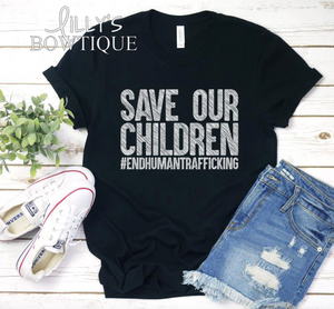 Save Our Children #endhumantrafficking