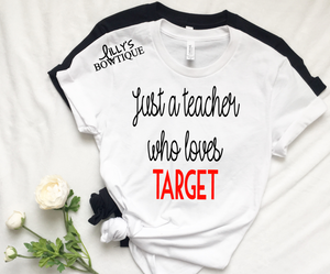 Just a teacher who loves Target