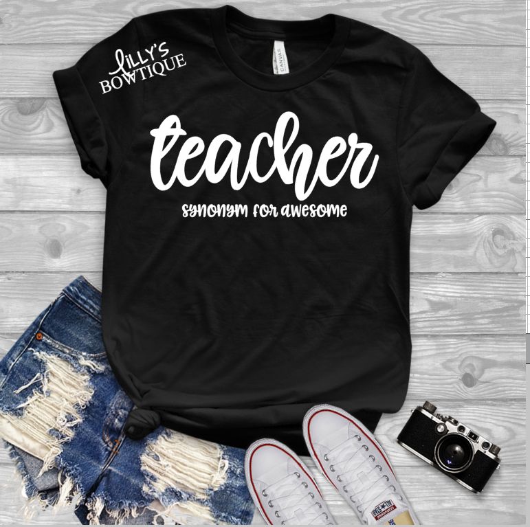 Teacher synonym for awesome
