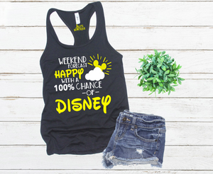 Weekend Forecast Happy With a 100% Chance of Disney Tank