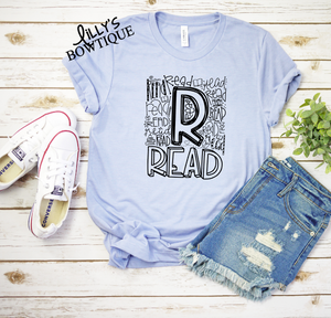 Read Typography Tee