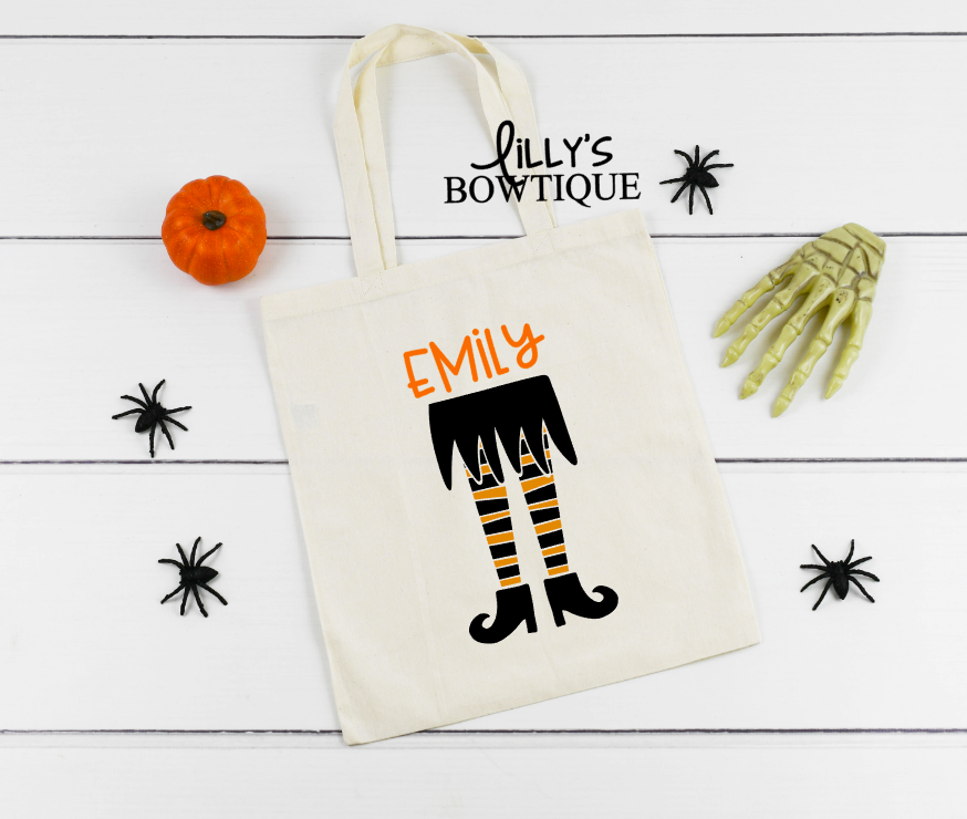 Personalized Witch Tote