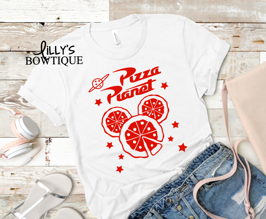 Pizza Planet Mouse Tee