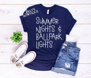 Summer Nights & Ballpark Lights