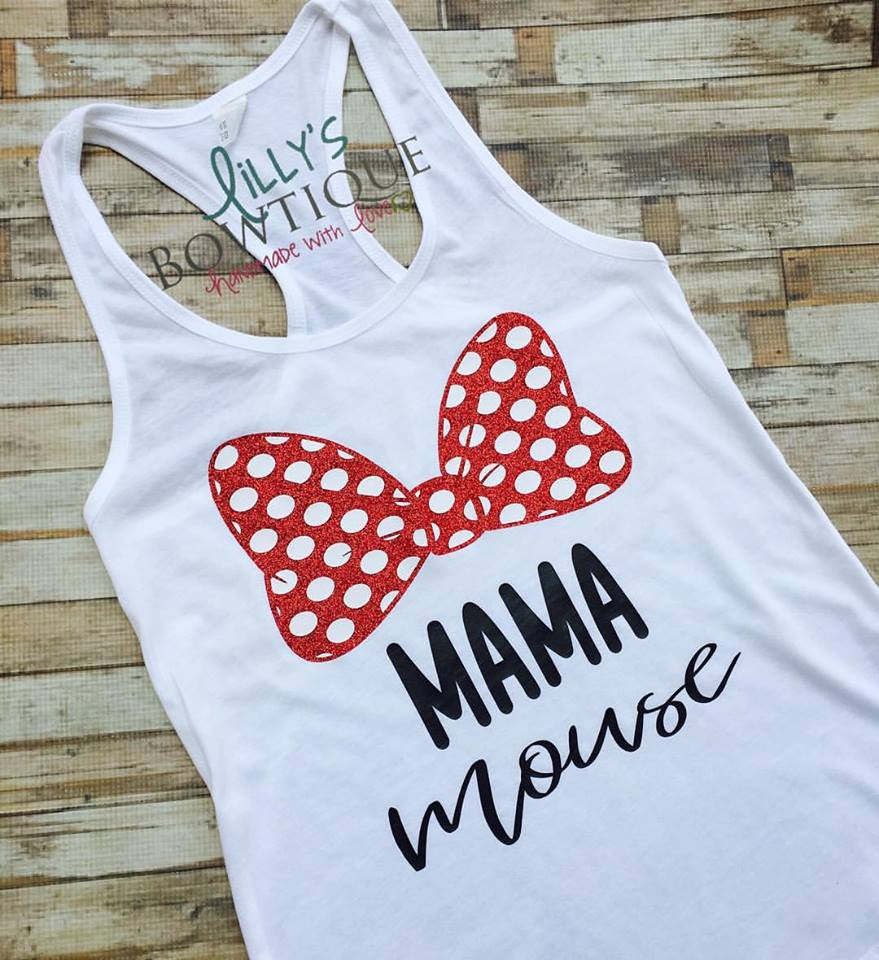 Mama Mouse Minnie Tank