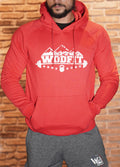 Sweat Rouge - Wodfit vintage Unisexe