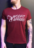 T-Shirt Bordeaux - Coq Wodfit