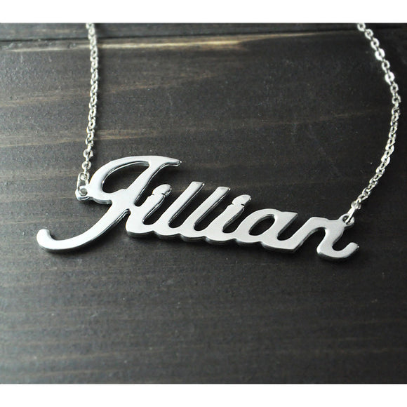 Personalized Necklace ( Alison Font ) FREE SHIPPING