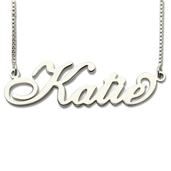 Personalized Necklace Carrie Font