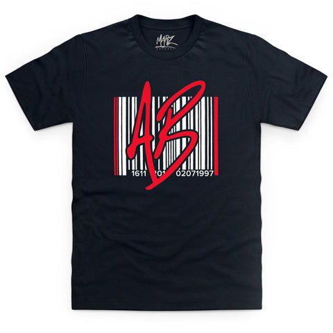 AB Barcode Red Black Kids T-Shirt
