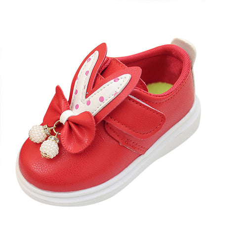 Kids girls shoes pu leather