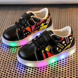 Kids Sneakers LED Luminous Shoes
