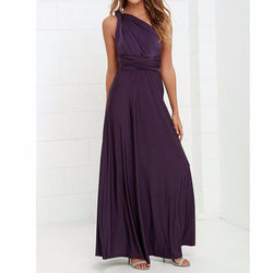 Long Dress Party Multiway Bridesmaids Convertible Infinity Robe Longue