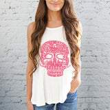 Galaxy Taco Sugar Skull Tank Tops