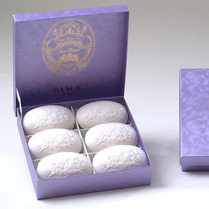 Rance 1795 The Beautiful Iris Royal 117 Soap 6x100g