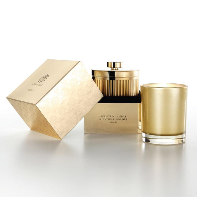 Amouage Gold Candle With Holder W 195g - Niche Essence