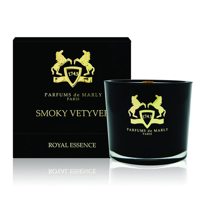 Parfums de Marly Smoky Vetyver Candle - Niche Essence