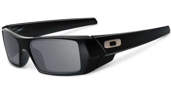 OAKLEY GASCAN 03-471 Polished Black Grey Sunglasses