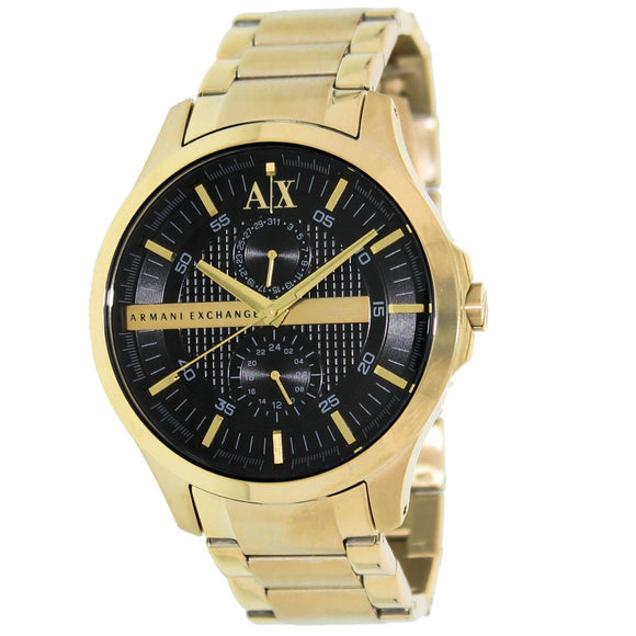 ARMANI EXCHANGE AX2122 Smart Gold Black Dial Chrono