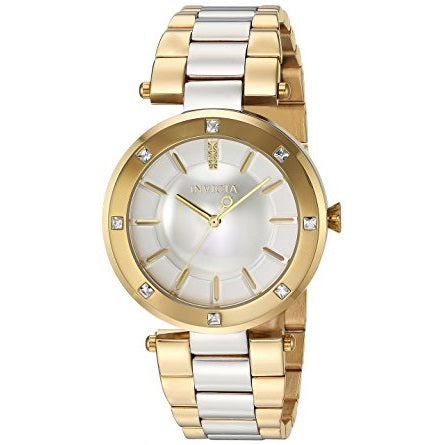 Invicta 23725 Angel Two Tone Silver & Gold Stainless Steel