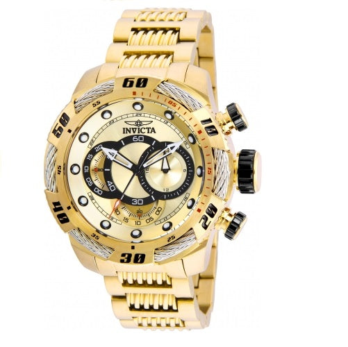 Invicta Speedway Chronograph all Gold