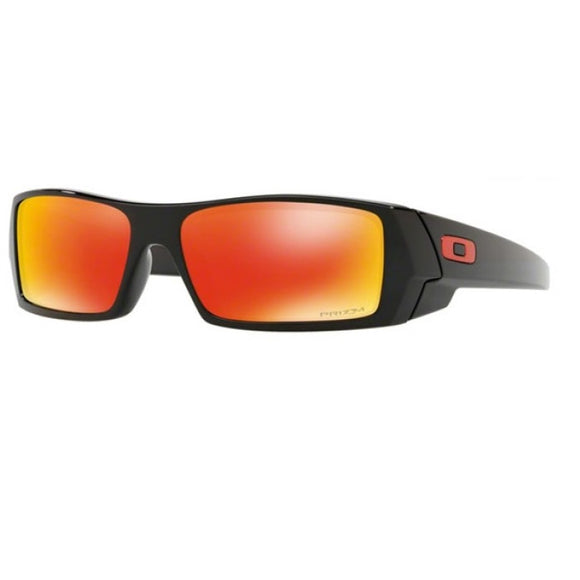 OAKLEY GASCAN 26-246 Matte Black Prizm Ruby Sunglasses New Style 9014-44