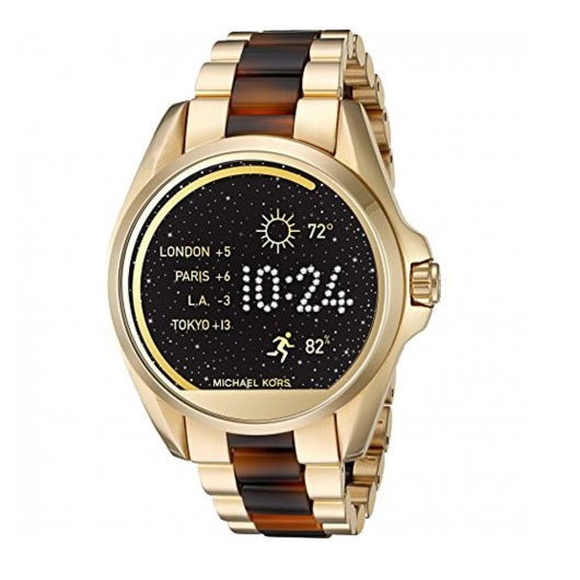 Michael Kors MKT5003 Access Touch Screen Bradshaw Gold Tortoise Smartwatch