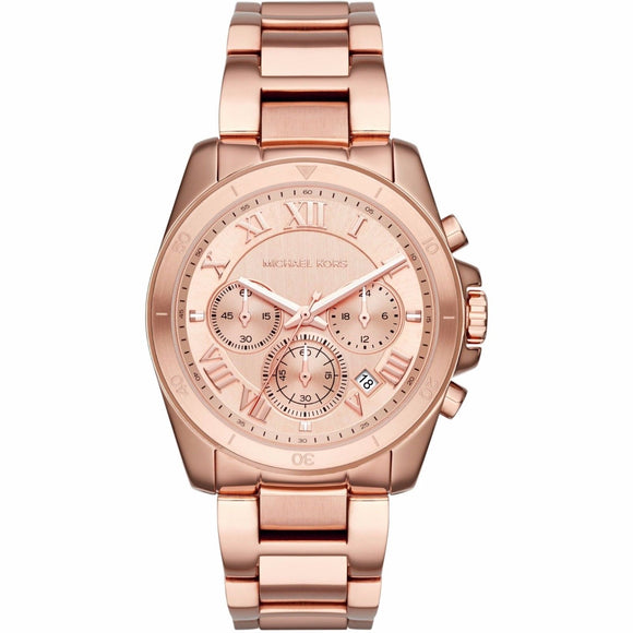 Michael Kors MK6367 Brecken Rose Gold Chronograph Stainless