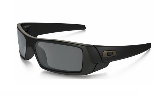 OAKLEY GASCAN 12-856 Matte Black Black Iridium Polarized Sunglasses