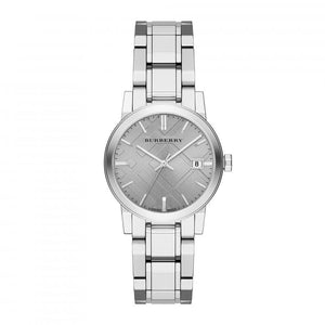 Burberry BU9143 The City Silver Stainless Watch Ladies