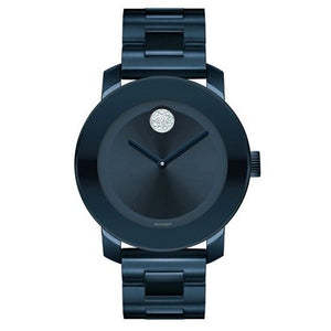 Movado 3600494 Bold Navy Blue Ion Plated Stainless Steel Swiss