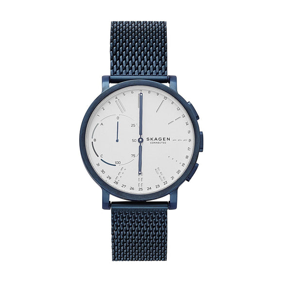 Skagen Connected SKT1107 Hagen Blue Hybrid Smartwatch Mesh Steel Band