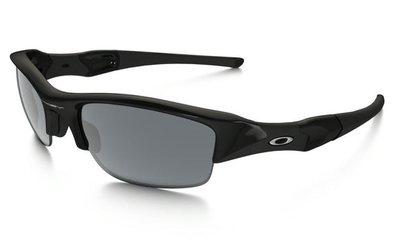 OAKLEY FLAK JACKET 03-881 Jet Black Black Iridium Sunglasses