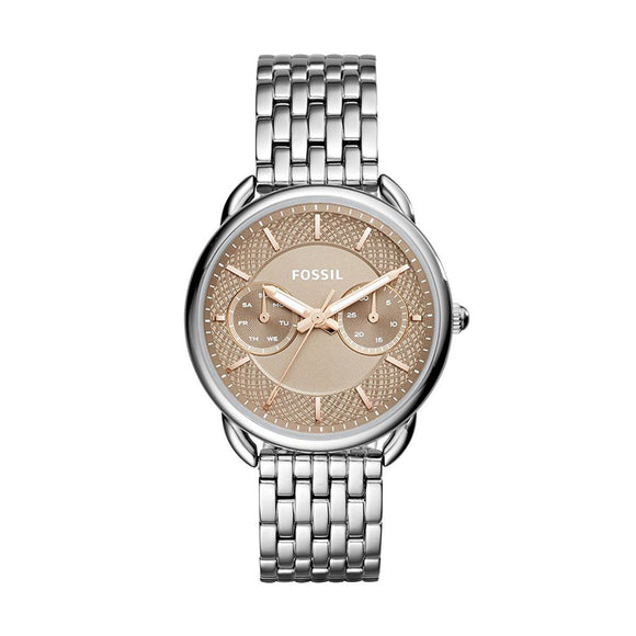 FOSSIL ES4225 Tailor Nude Neutral Dial Stainless Steel Quartz