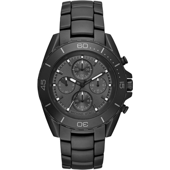 Michael Kors MK8517 JetMaster All Black Stainless Steel Chronograph