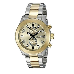 Invicta 21491 Specialty Two Tone Gold & Silver Chronograph