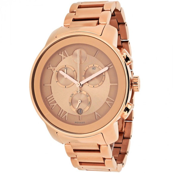 Movado 3600210 Bold All Rose Gold Stainless Steel Swiss