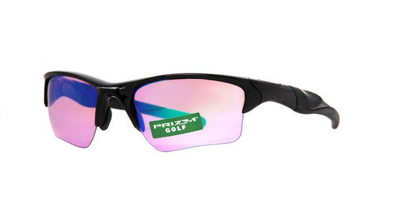 OAKLEY HALF JACKET 2.0 XL OO9154-49 Polished Black Prizm Golf Sunglasses
