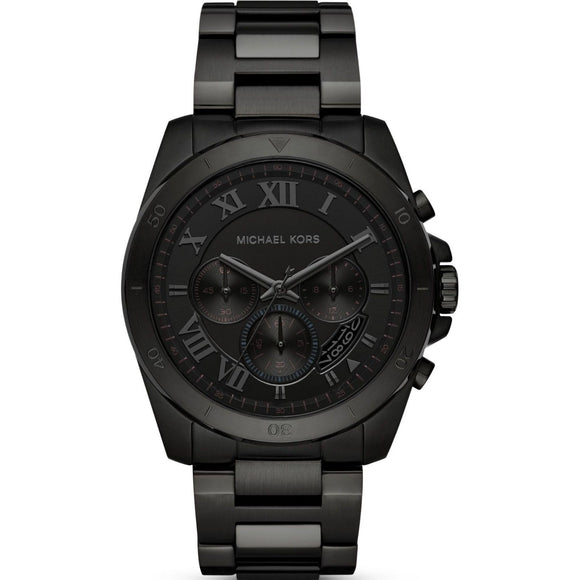 Michael Kors MK8482 Brecken Ion Black Chronograph Stainless