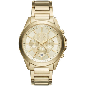 ARMANI EXCHANGE AX2602 Gold Stainless Steel Chronograph Quartz