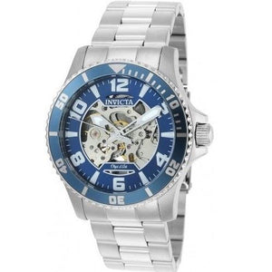 Invicta 22603 Object D Art Silver Blue Bezel Automatic Stainless Steel
