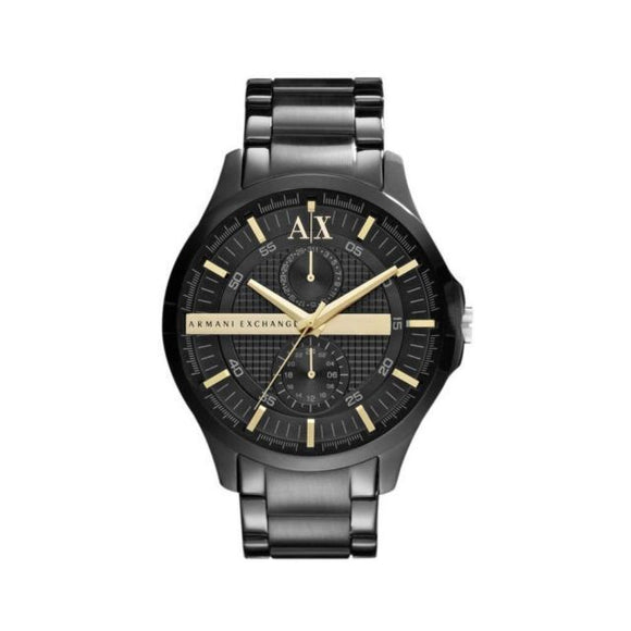 ARMANI EXCHANGE AX2121 Smart Ion Black Gold Accents
