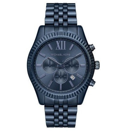 Michael Kors MK8480 Lexington Navy Ion Plated Chrono Blue