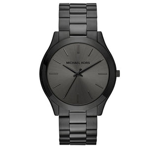 Michael Kors MK8507 Slim Runway Ion Black IP Stainless Steel