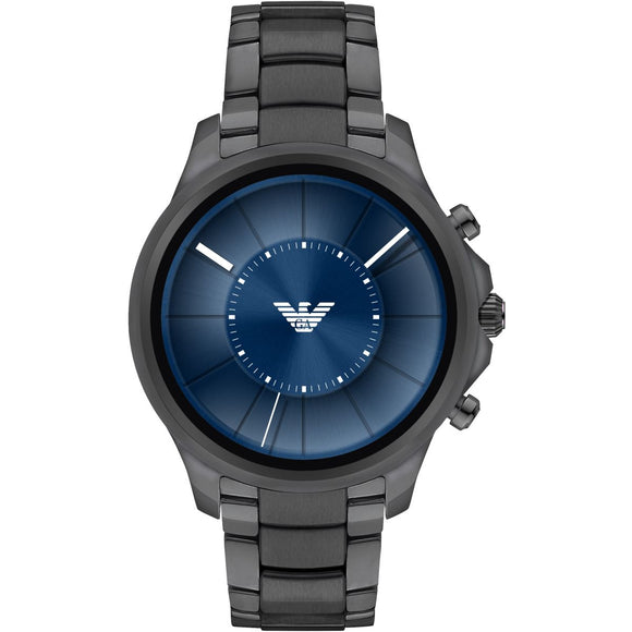 Emporio Armani ART5005 Connected Smartwatch Gunmetal Blue Touchscreen