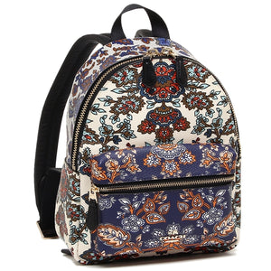 Coach F11809 IMMTI Mini Charlie Multi Color Forest Flower Backpack Leather