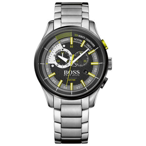 Hugo Boss 1513336 Yachting Timer II Chronograph Stainless Green Accents